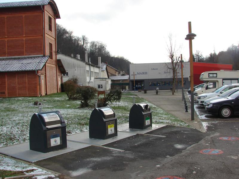 Collecteur de déchets Moyeuvre Petite